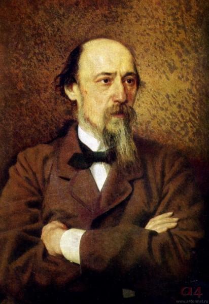 59 Иван Крамской. Портрет поэта Николая Алексеевича Некрасова