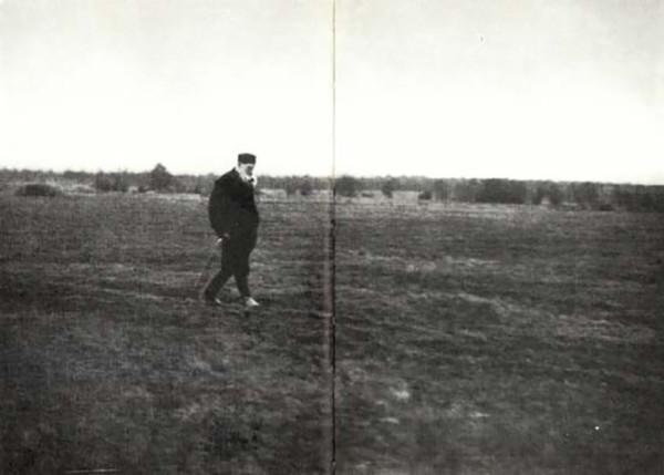 68 Л.Н. Толстой. 1909 г. Крекшино. Фото С.Г. Смирнова