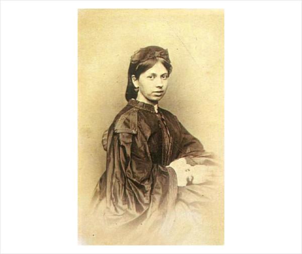 83 С.А. Берс. 1862 г. Москва. Фото М.Б. Тулинова