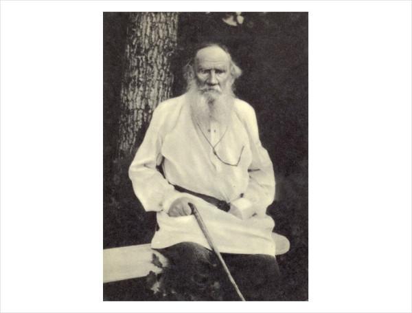 90 Л.Н. Толстой. 1910 г. Хутор Затишье. Фото Т. Тапселя