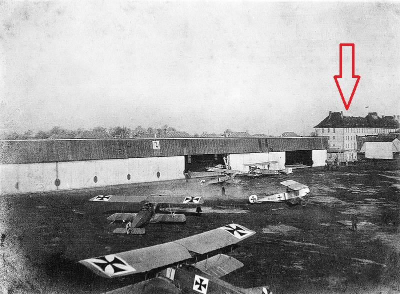 "Аэродром ""Девау"". 1916 год."