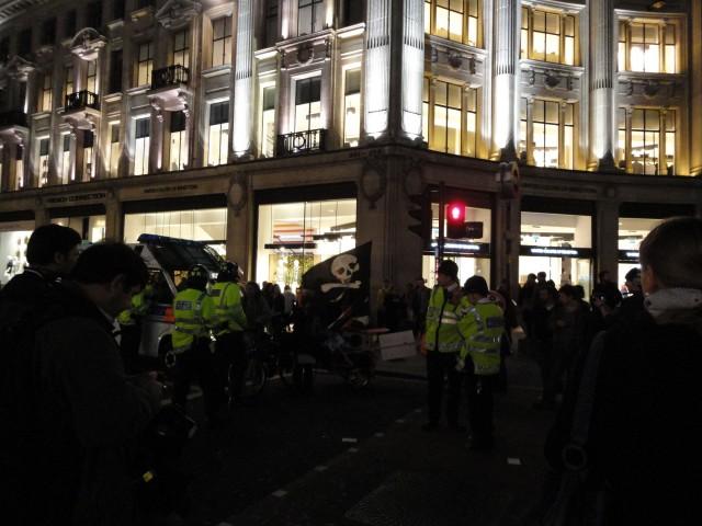 london riots march 2011