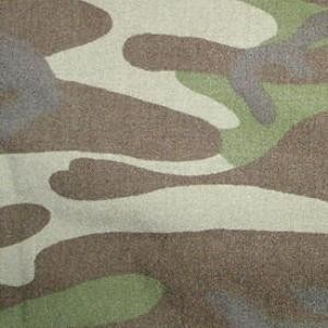 Turkey and Azerbaijan elongated leaf camouflage pattern