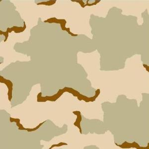 US Army Desert Camouflage Uniform Coffee-stain Three-color Desert Pattern