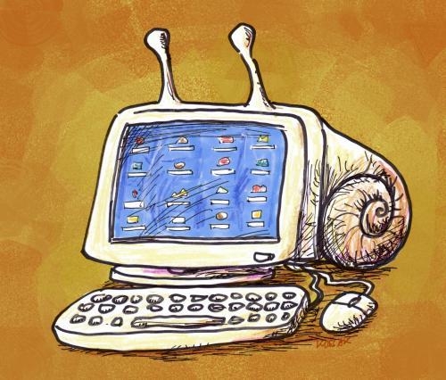 Arnulf Kossak - Snail PC