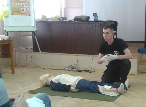Помощи пострадавшим при травмах
