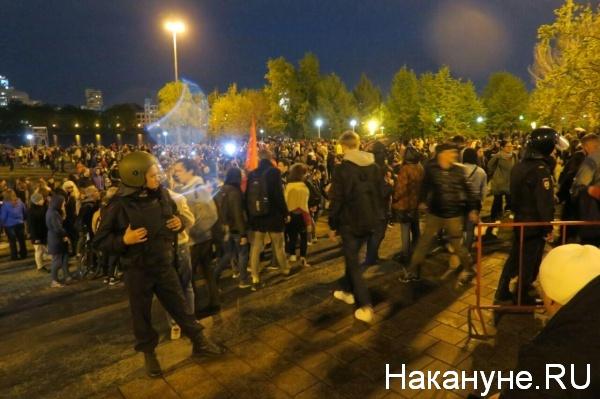 Акции протеста @Накануне