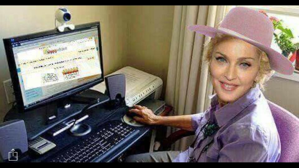 Alextime- LOVE this photo of Madonna at home, just goes to show she really is one of us xxx -Madonna.jpg