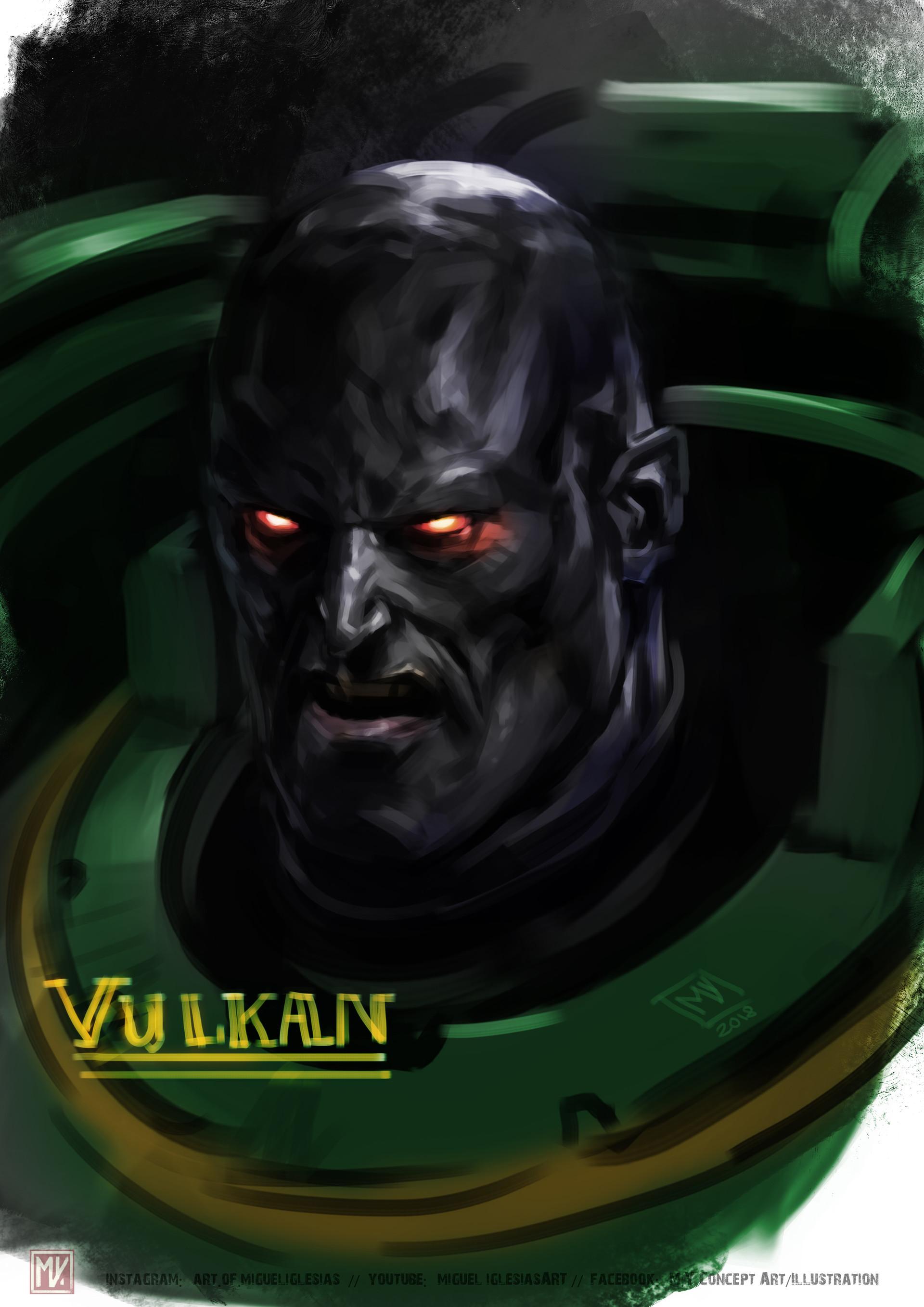 17 - 6Xn33Sq - Vulkan, Primarch of the Salamanders
