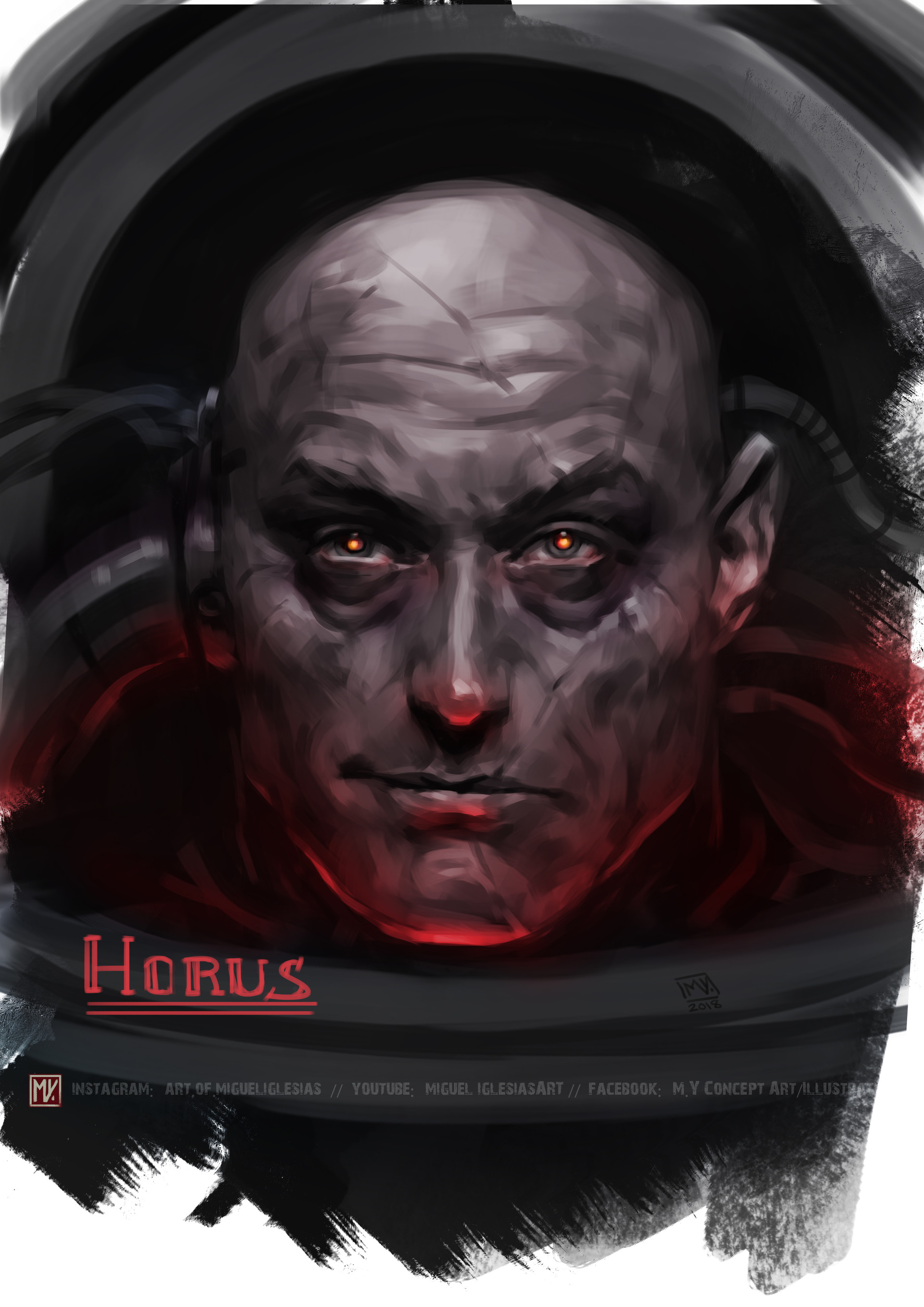15 - FQ19vjh - Horus Lupercal, Primarch of the Lunar Wolves