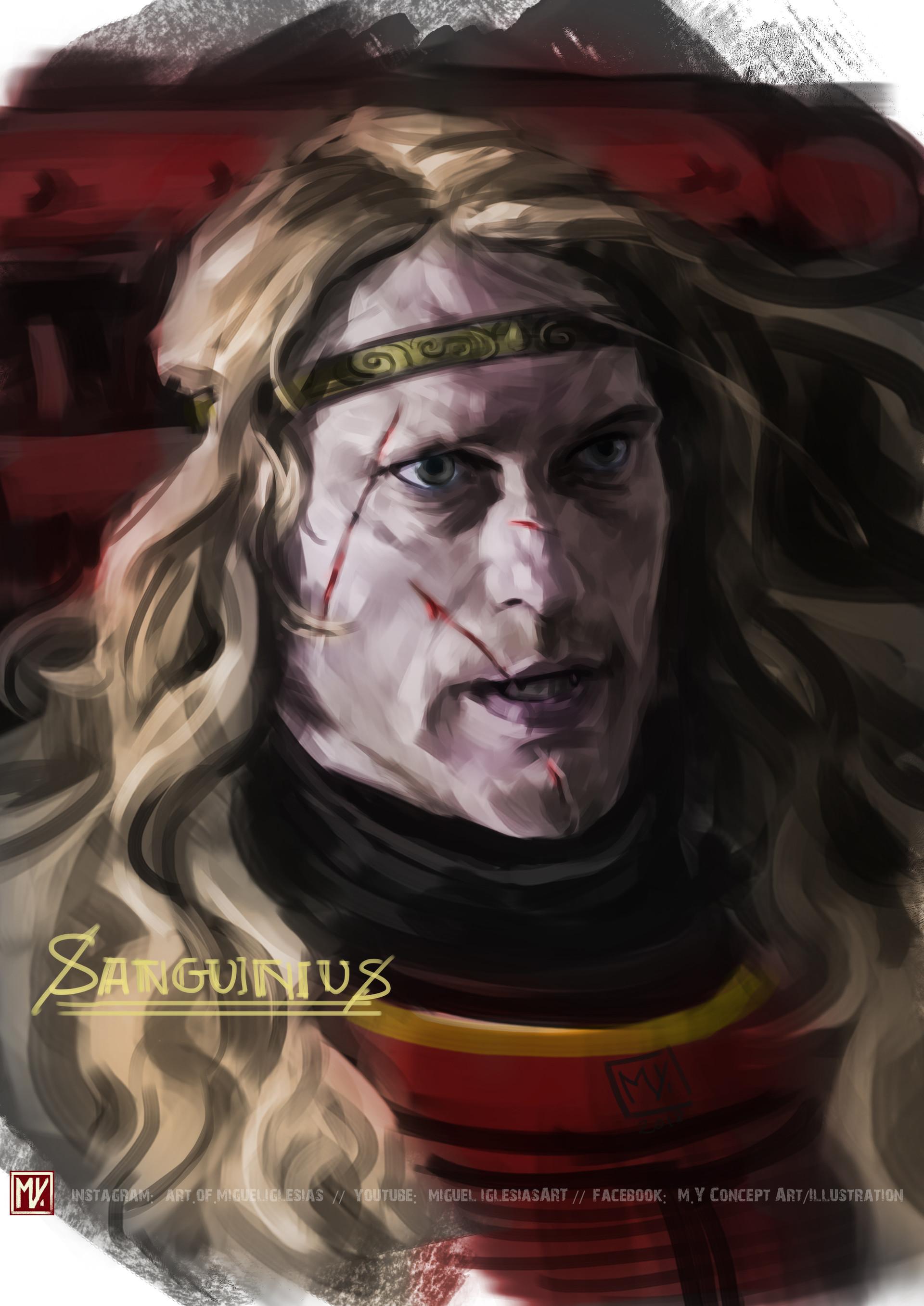 9 - Hy793m1 - Sanguinius, Primarch of the Blood Angels