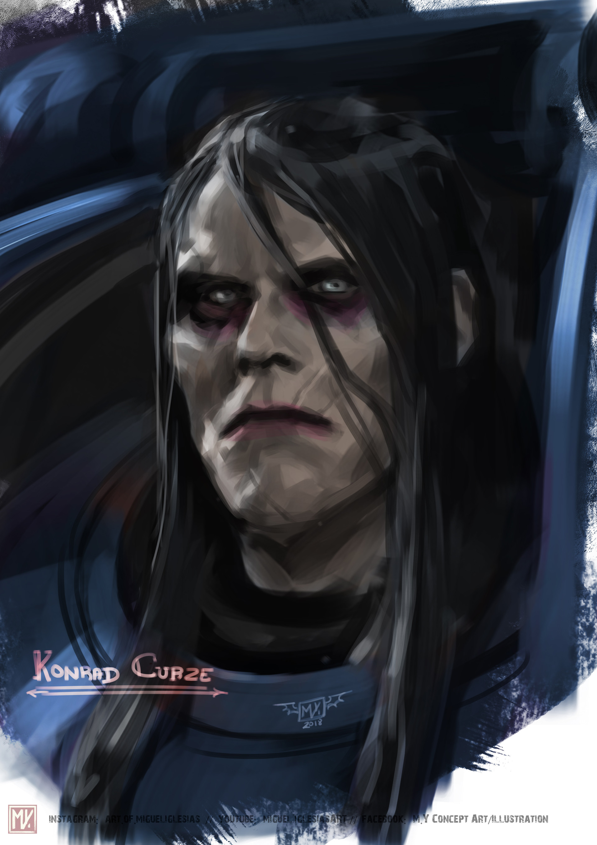8 - kL2x8wB - Konrad Curze, Primarch of the Night Lords