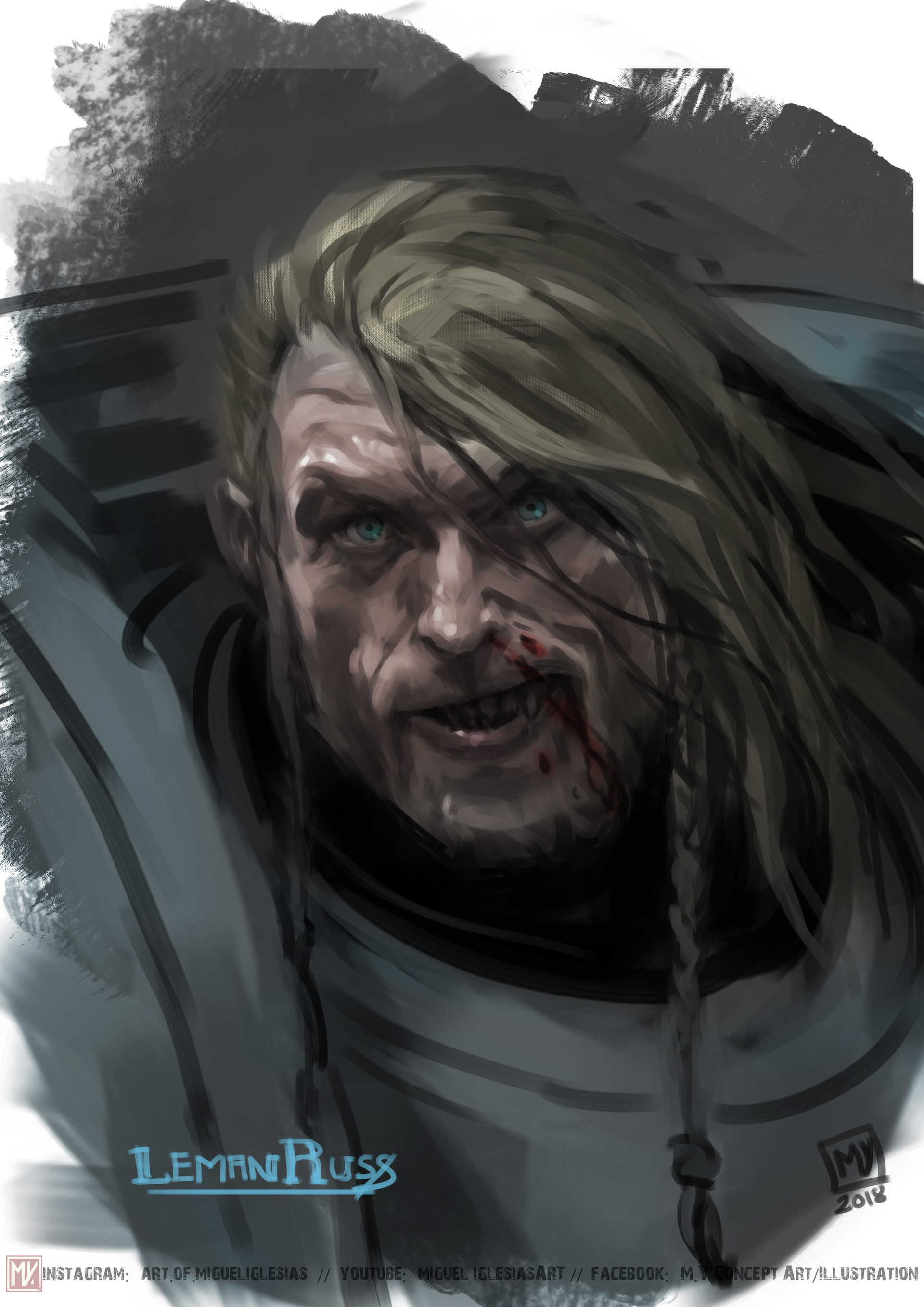 6 - RDygsK5 - Leman Russ, Primarch of the Space Wolves