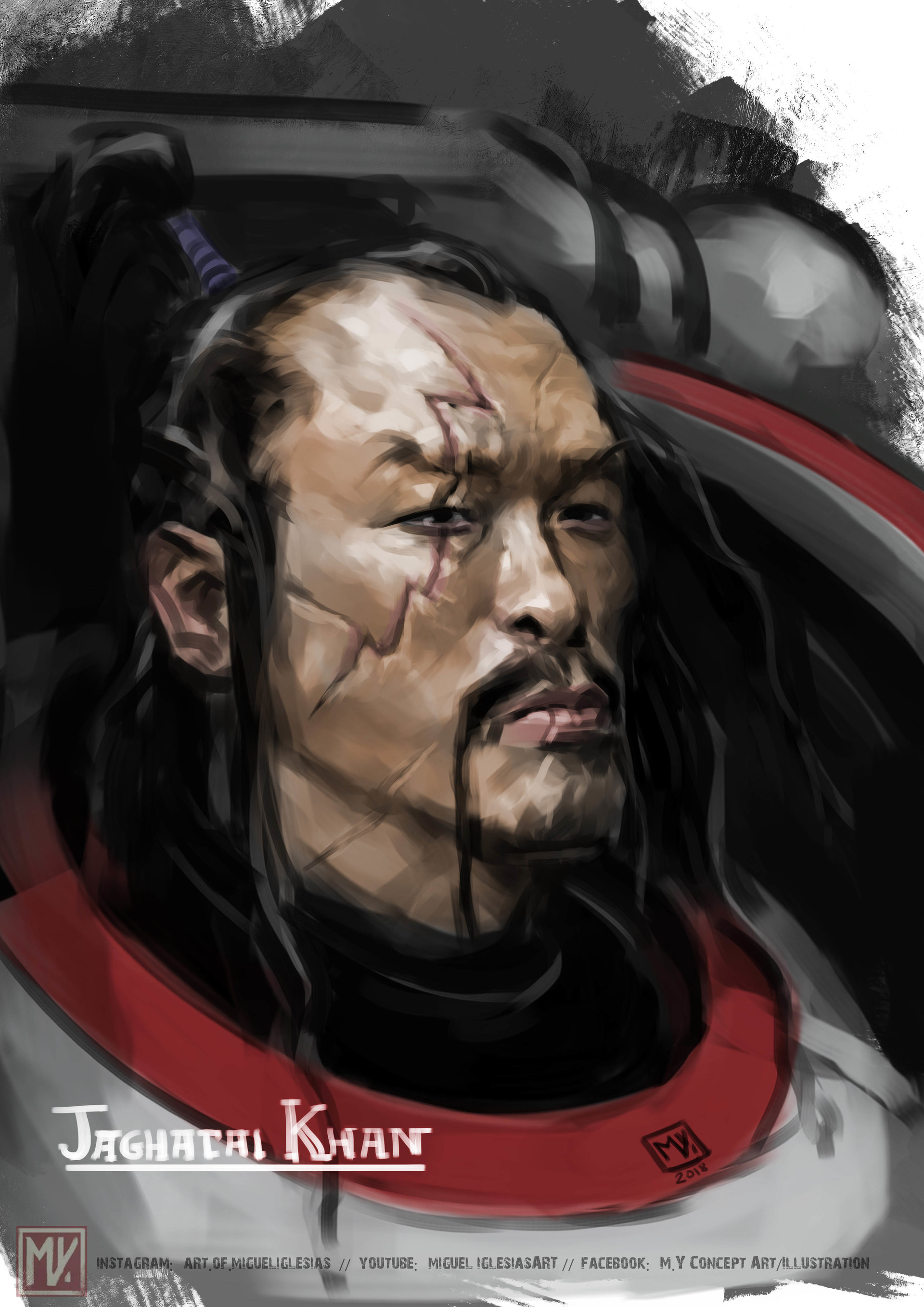 5 - wh3lebO - Jaghatai Khan, Primarch of the White Scars