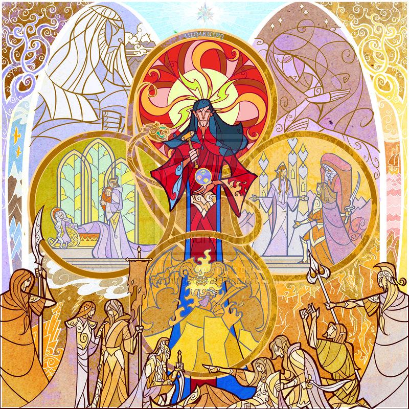 Feanor and Silmarils
