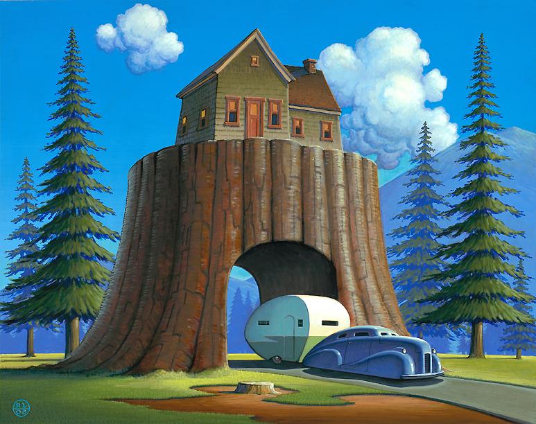 Robert laDuke treehouse