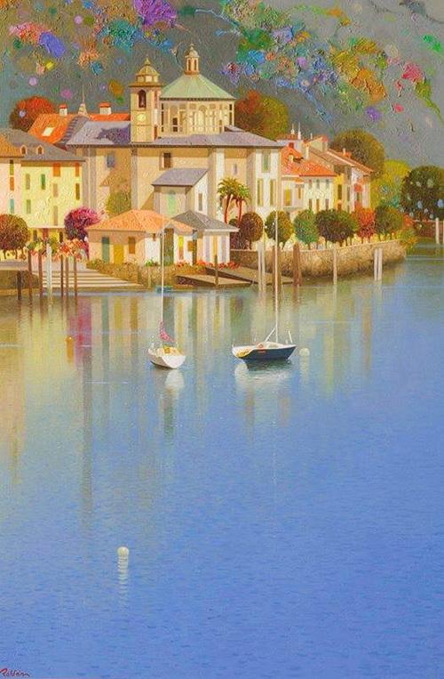 0- Pedro Roldán Molina - Озеро Комо. Италия С желание дать тебе летать