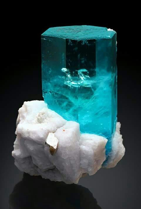 Aquamarine and Albite