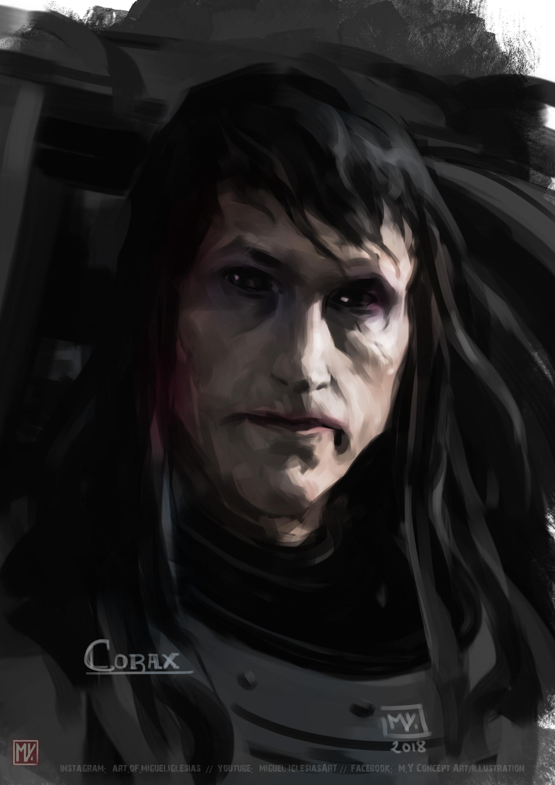18 - XsQ6Ggc - Corvus Corax, Primarch of the Raven Guard