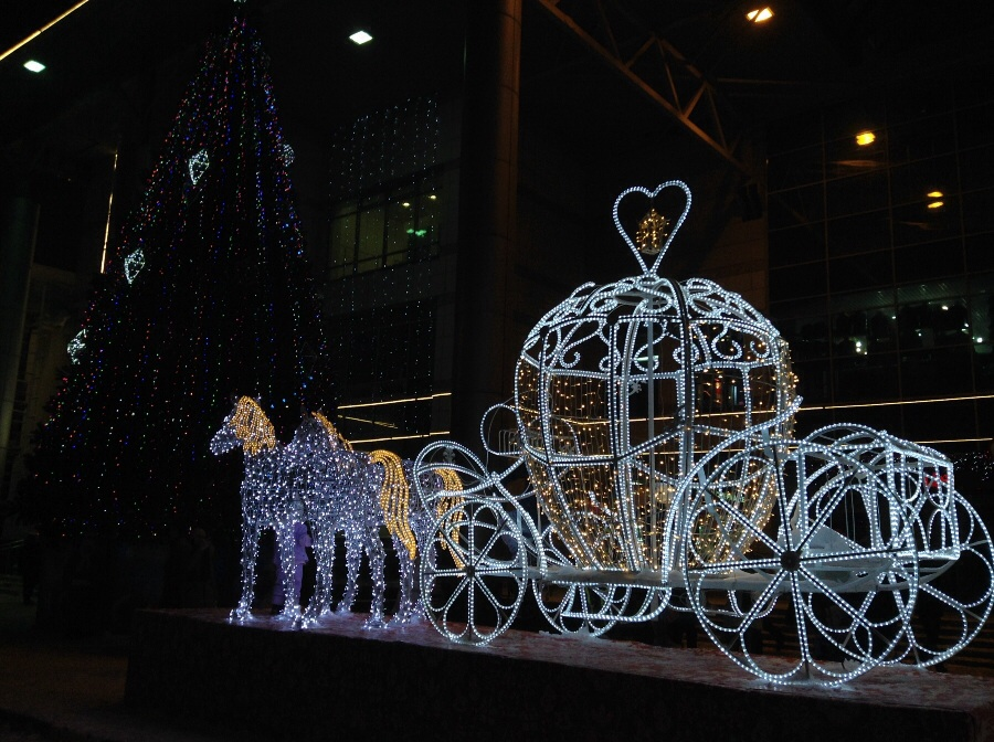 Новогодняя сказка про Золушку:)