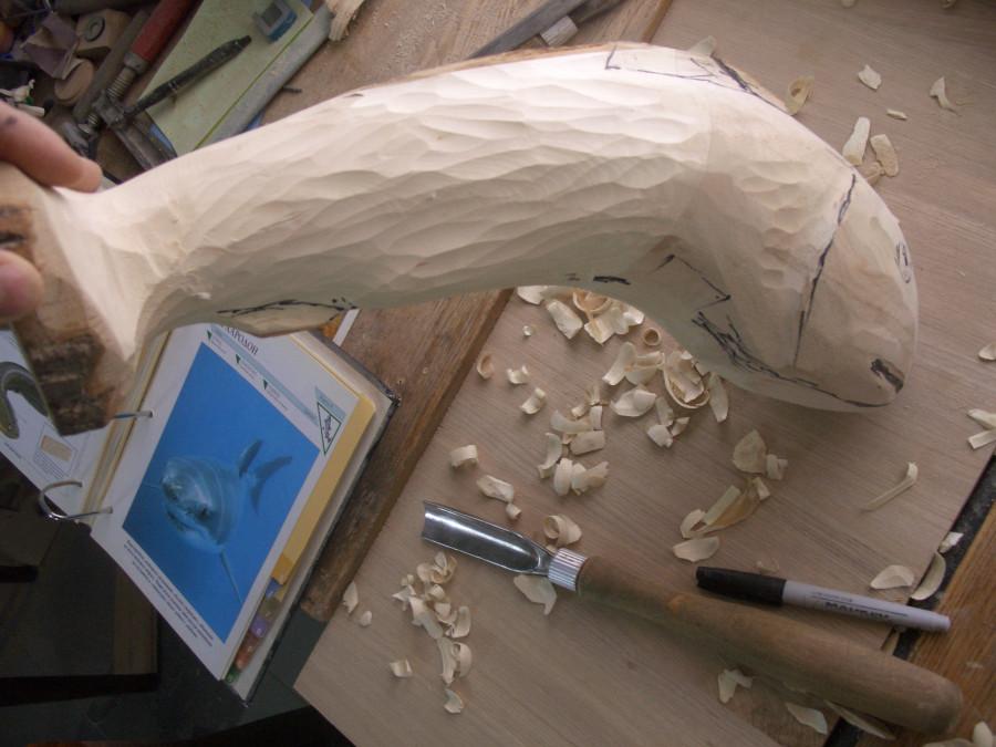 Изготовление фигур из дерева