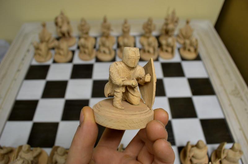 Сделать шахматы из дерева своими руками 95