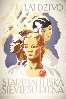 Lai dzīvo starptautiskā sieviešu diena, 1965
