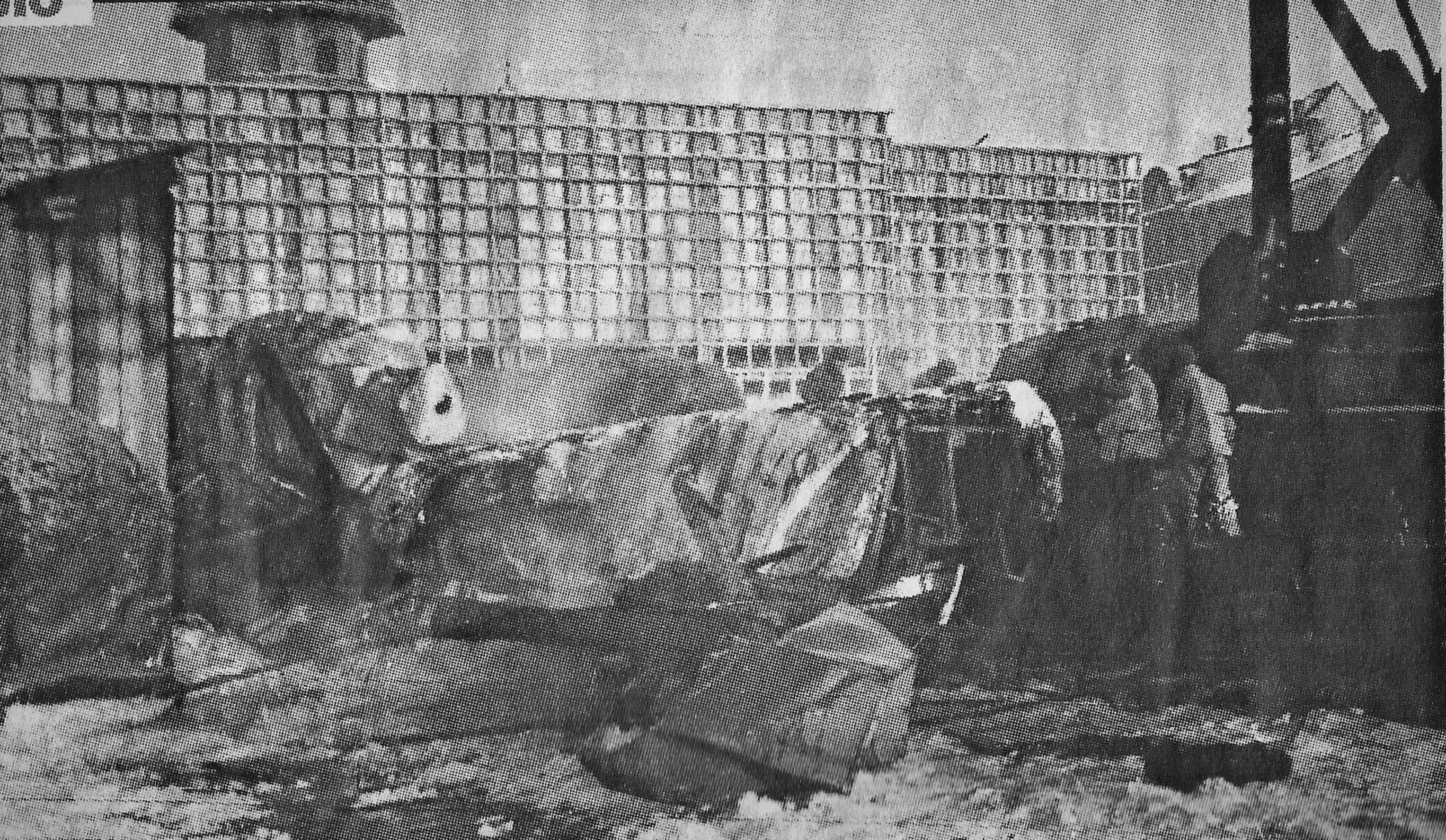 памятник стрелкам пожар Рига