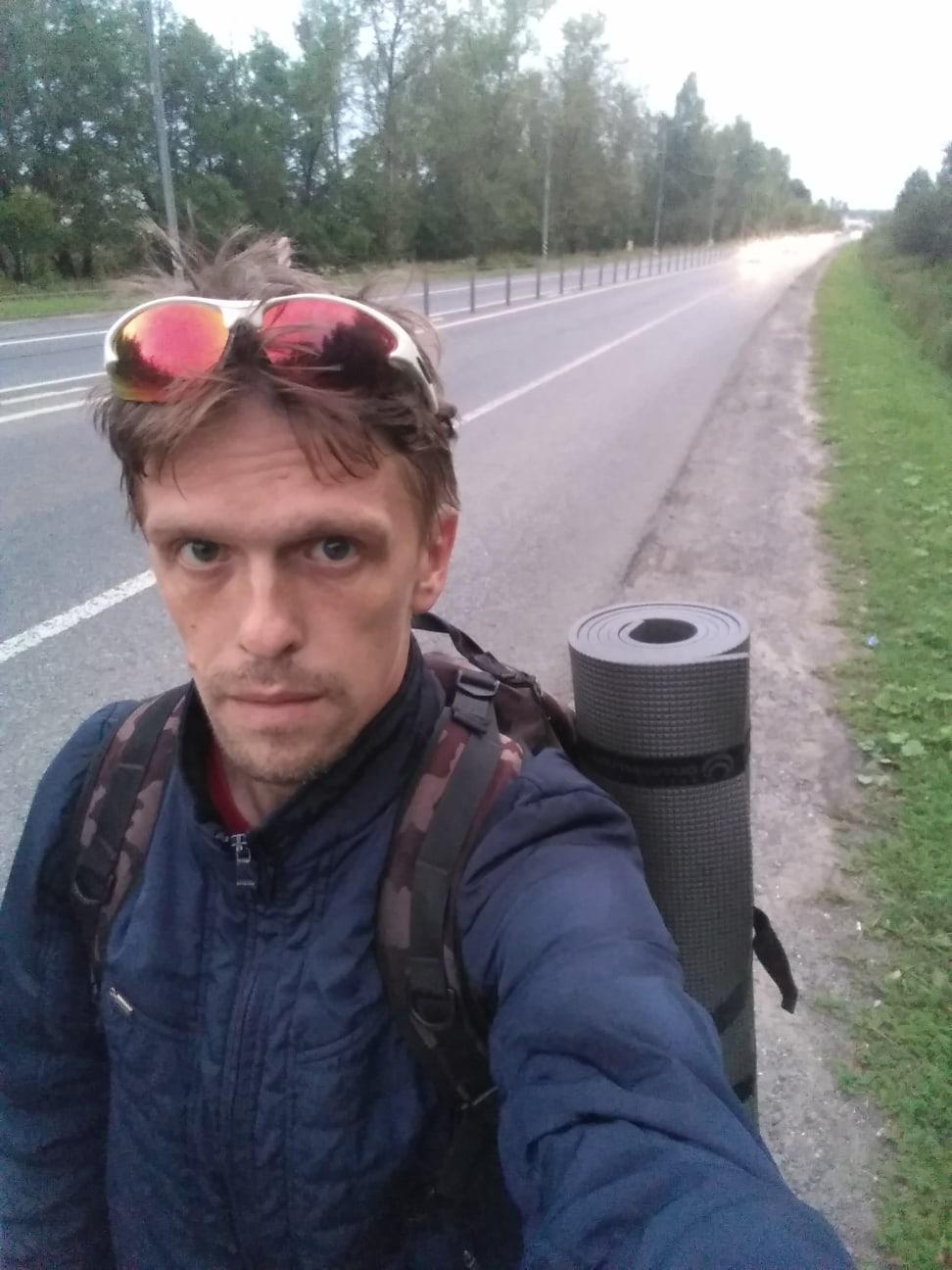 По пути в чехов старое Симферопольское шоссе