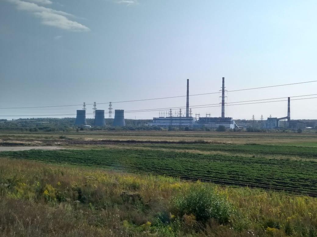 ТЭЦ по дороге в Кременье и Таобушево