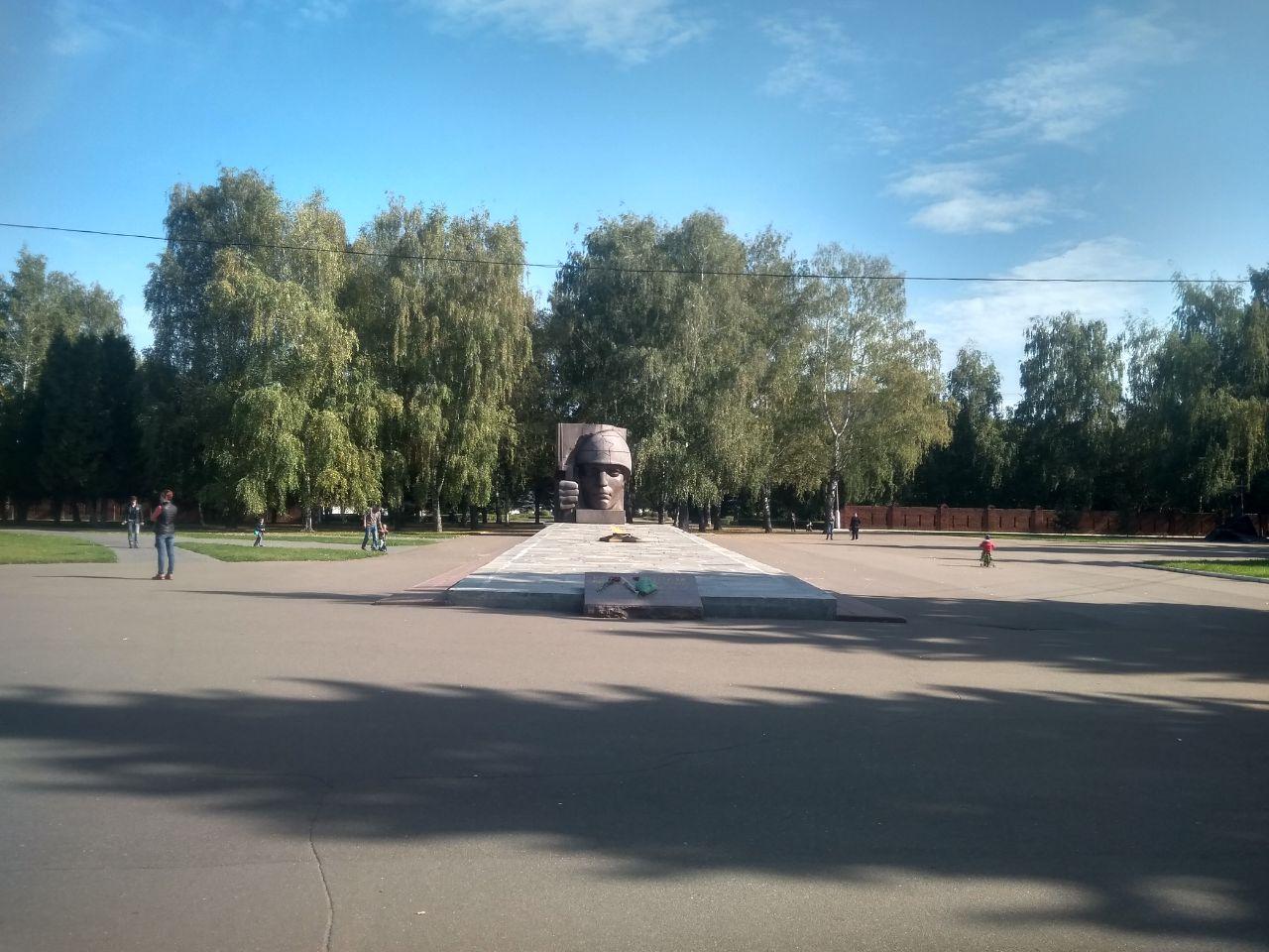 Коломна памятник ВОВ