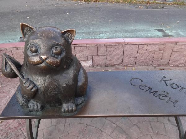 Самый знаменитый кот Мурманска