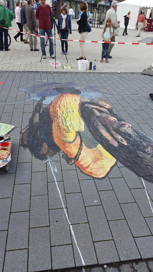 рисунков на 3d асфальте искусство