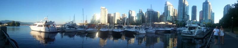 Пристань в Ванкувере