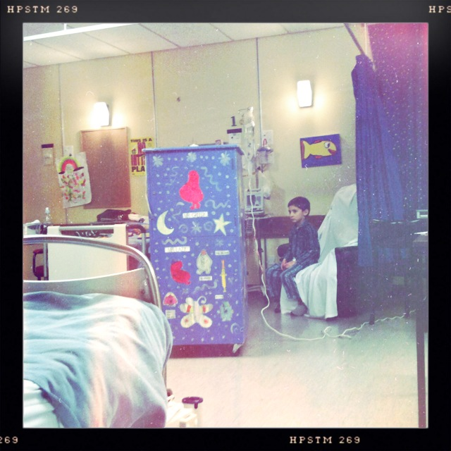 Hospital Monday night 4 June 2012