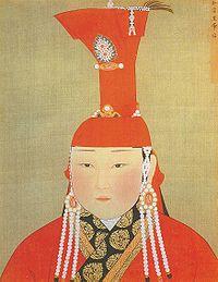 Раднашири хатан из рода Конгират. Жена юаньского императора Аюрбарибады