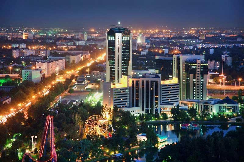 Ташкент вечерний
