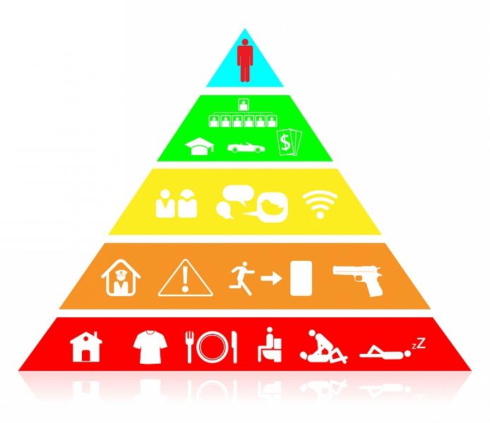 пирамида - инфографика