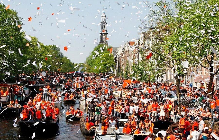 Оранжевая песня Нидерландов