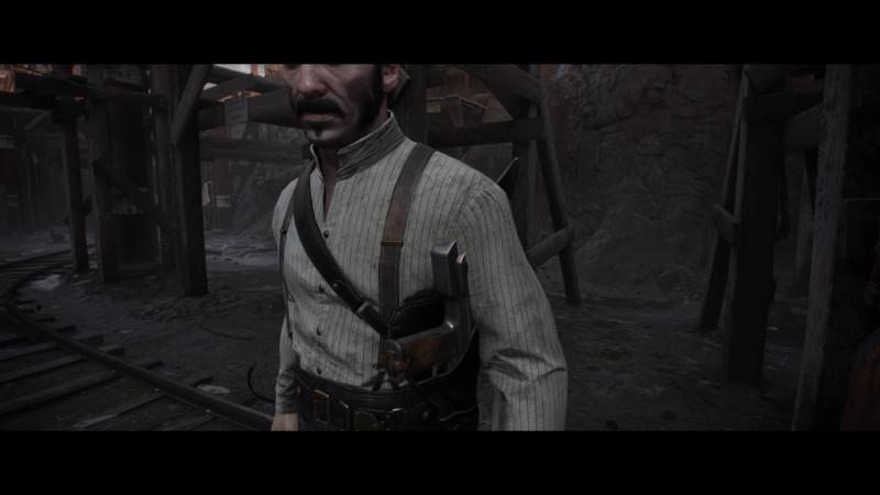 Небольшой косяк с торчащим в теле пистолетом. Но это чисто попридираться.