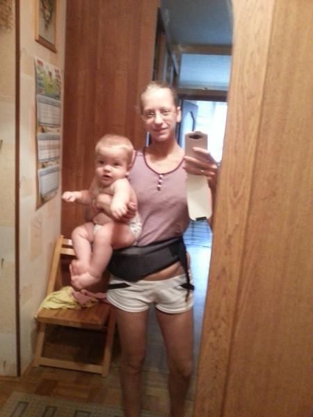 Нескучный день с двумя погодками, доча 2.5 и сына 11 месяцев 20131109_091844