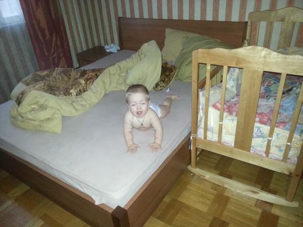 Нескучный день с двумя погодками, доча 2.5 и сына 11 месяцев 20131109_084409