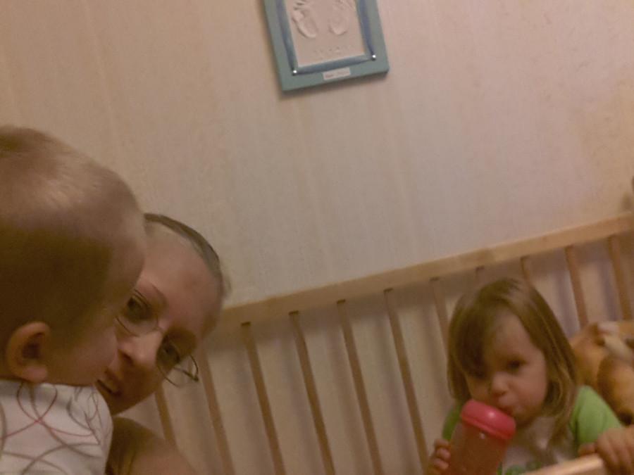 Нескучный день с двумя погодками, доча 2.5 и сына 11 месяцев 20131109_135038