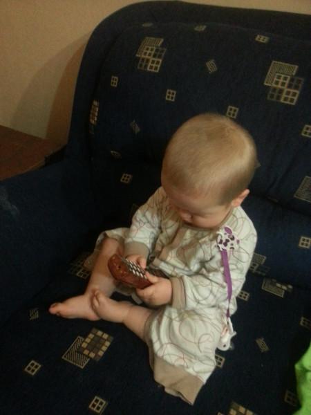 Нескучный день с двумя погодками, доча 2.5 и сына 11 месяцев 20131109_174435