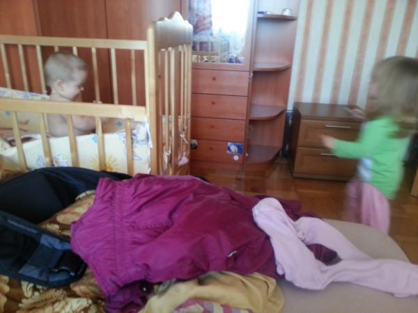 Нескучный день с двумя погодками, доча 2.5 и сына 11 месяцев 20131109_104605