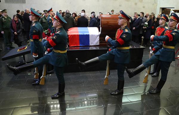 Новости России: в Москве состоялось прощание с Великим дипломатом