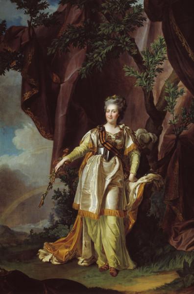 Портрет Екатерины Великой