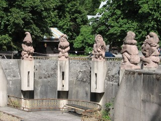 7 гномов в зоопарке