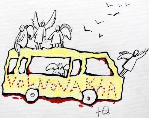 Незаплановані Ангели, малюнок Юлі Косівчук