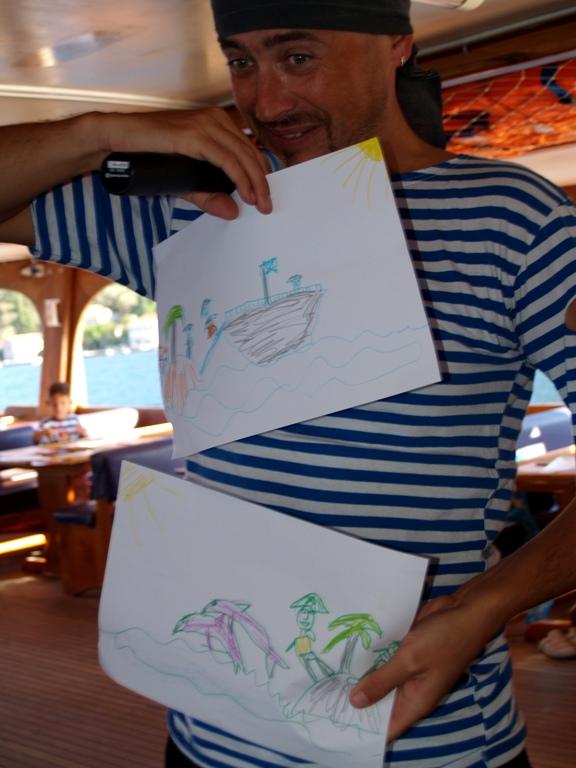 Пиратские рисунки паруса